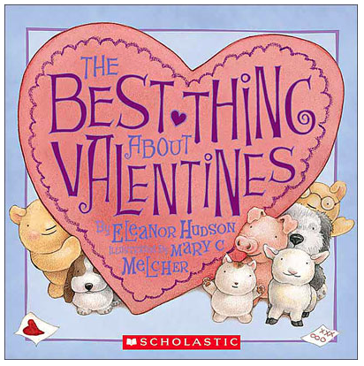 The Best Thing About Valentines Book